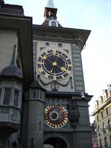 Bern, Clock (80 kbytes) - Click to enlarge