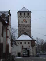 Basel, Clock Tower (61 kbytes) - Click to enlarge