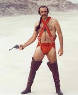 as  Sean Connery in Zardoz (55 kbytes) - Click to enlarge